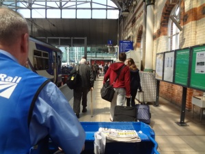 My view of Manchester Station