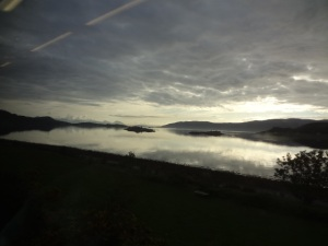 From the train window